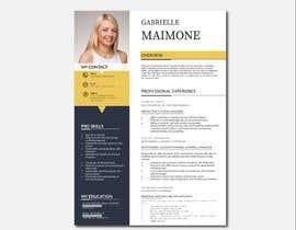 #227 untuk Professional resume design oleh sumonthemaster