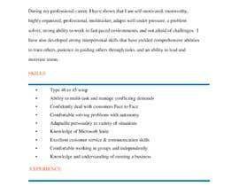 #233 untuk Professional resume design oleh collincevw