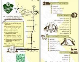#6 dla Camp Route Map przez RenggaKW