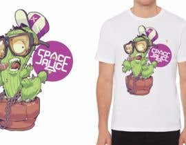 #38 dla Need New Design for Space Sauce t shirt Collection przez ThinkArt007