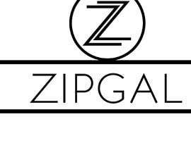 #48 dla ZipGal Logo przez gujiko321