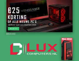 #55 dla Need a banner and a small image for gaming computer store przez kashifkiduniya