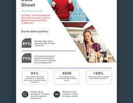 #5 dla Sales Sheet Design przez ChiemiDesigns