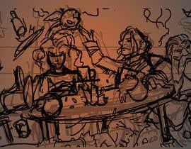 #13 dla Draw an image of D&D Characters in a tavern przez ShernanCMijares