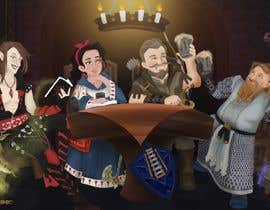 #26 dla Draw an image of D&D Characters in a tavern przez ekosugeng15