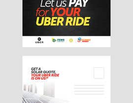"#19 dla Postcard for ""Let Us Pay for Your Uber Ride"" przez Hasan628"