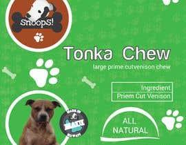#22 dla Dog Treat Label ; Tonka Chew przez Graphic94