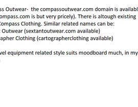 #14 dla Name my men's outerwear / clothing company przez PlayingWithFire