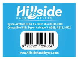 #28 dla Design us product labels with logo text and barcodes. przez Mahbub33
