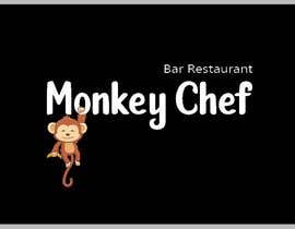 #120 dla Logo design / Diseño de logo    Monkey Chef przez CristinaMT777