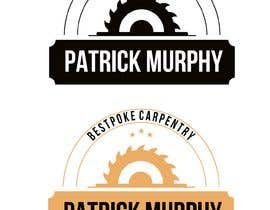 #5 dla I need a logo designed for a carpenter. The company name is Patrick Murphy Bespoke Carpentry. I would like black font for the writing and sleek and corporate looking. Please include that green colour in the design somehow. przez carlosgirano
