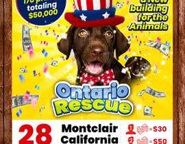 #107 dla Create a Raffle Banner for Animal Rescue przez fedyn17