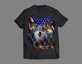 #127 dla Professional Wolf Shirt Design (Photoshop) przez arafatrahman913