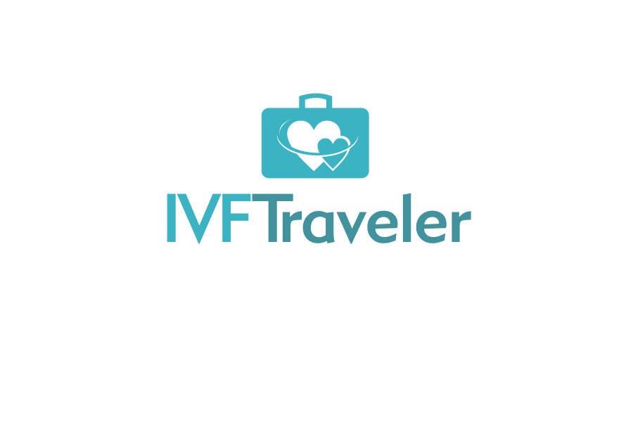 Kilpailutyö #62 kilpailussa Logo Design for IVF Traveler