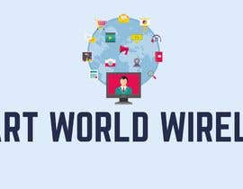 #12 para I want a new logo for my company. My company name is Smart World Wireless.  New ideas and concepts that stand out.  I have a few images that i want ideas considered and incorporated.  Example like the picture of the world made of app icons of course a lit de akanesa