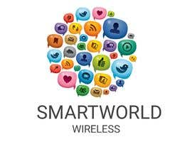 #13 para I want a new logo for my company. My company name is Smart World Wireless.  New ideas and concepts that stand out.  I have a few images that i want ideas considered and incorporated.  Example like the picture of the world made of app icons of course a lit de DeepakAgrawall