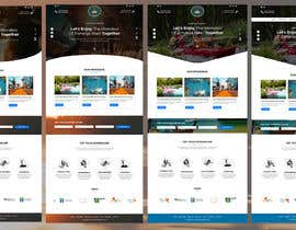 #16 para HOME PAGE REDESIGN - Canoe/safari/rafting on river website de jayanta100