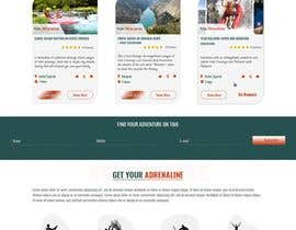 #36 para HOME PAGE REDESIGN - Canoe/safari/rafting on river website de EmmanuelThomas1