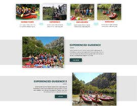 #25 para HOME PAGE REDESIGN - Canoe/safari/rafting on river website de danielfodor