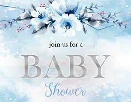 #39 para Create a baby shower event invite for facebook de marianayepez