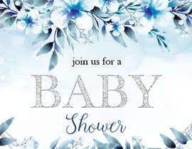 #40 para Create a baby shower event invite for facebook de marianayepez