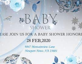 #8 dla Create a baby shower event invite for facebook przez Shivam0801