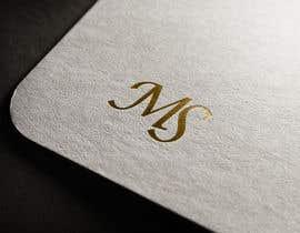 #222 para Design a monogram logo de moonstarbdcom