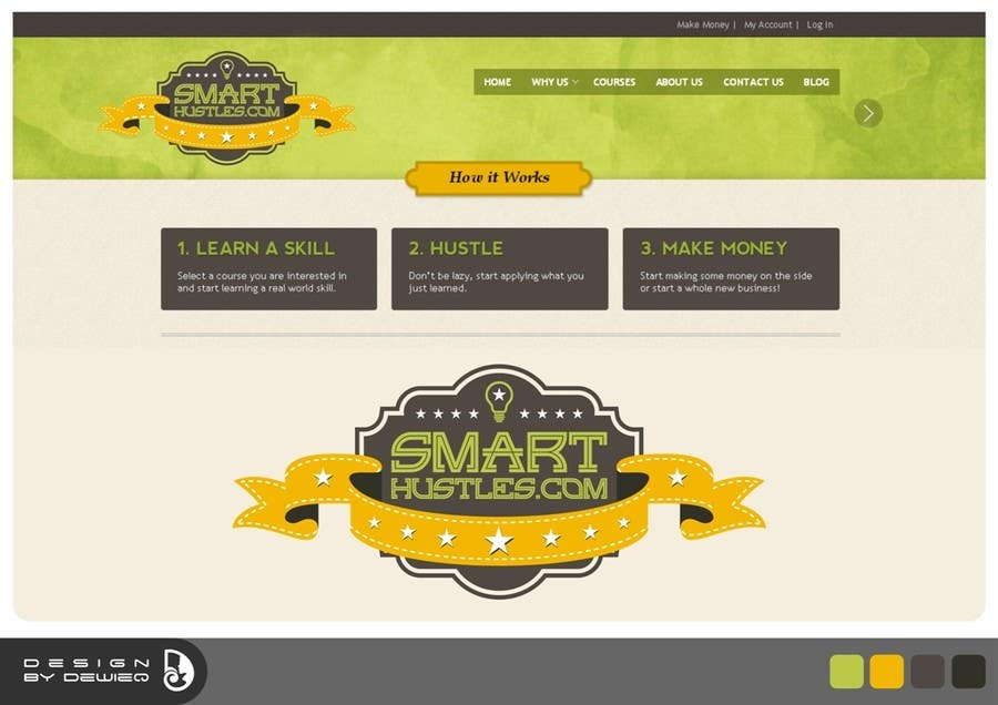 Inscrição nº                                         13                                      do Concurso para                                         Logo Design for SmartHustles.com
