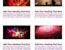 #58 para Build a home page design for a musician de Kalluto