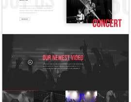 #51 para Build a home page design for a musician de SK813