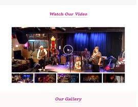 #59 para Build a home page design for a musician de rishadshr