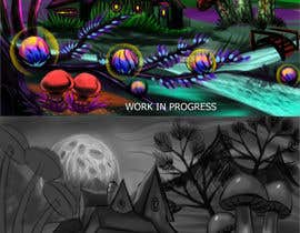 #38 para Original Fantasy/Psychedelic Landscape Art for Posters and Tapestry de andrei01cata