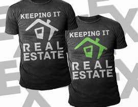 #35 para Simple Teal estate T shirt design de Exer1976