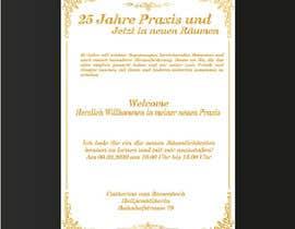 #9 für Design of an invitation von aiamgir