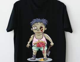 #61 para Design T.shirt for zombie character de amrshendy4495