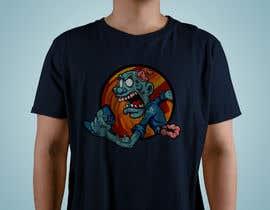 #68 para Design T.shirt for zombie character de andresduquex