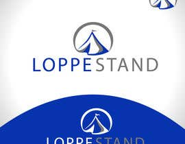 #77 untuk Design et Logo for loppestand (flea stand) oleh iaru1987