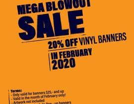 #10 para Mega Blowout Sale Sign - Vinyl Banners de BakkarBakkar