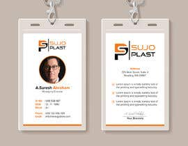#33 untuk Design an minimalistic ID Card oleh iqbalsujan500