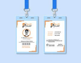 #81 untuk Design an minimalistic ID Card oleh rubeya19988