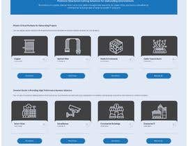 #55 for Web UI design for a manufacturing company by timenaut