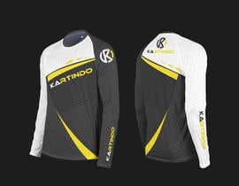 #6 untuk Karting Team Long-sleeve shirt oleh minimalwork