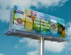 #26 for Text & Design to Add to Billboard picture content for Yogurt by mdshakibulislam0