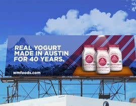 #16 for Text & Design to Add to Billboard picture content for Yogurt by mertgenco