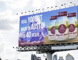 #28 for Text & Design to Add to Billboard picture content for Yogurt by shuvo8520