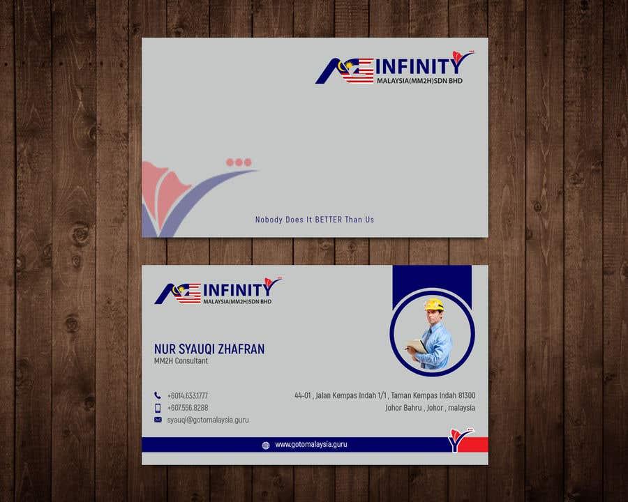 Penyertaan Peraduan #                                        26                                      untuk                                         Design Name Card