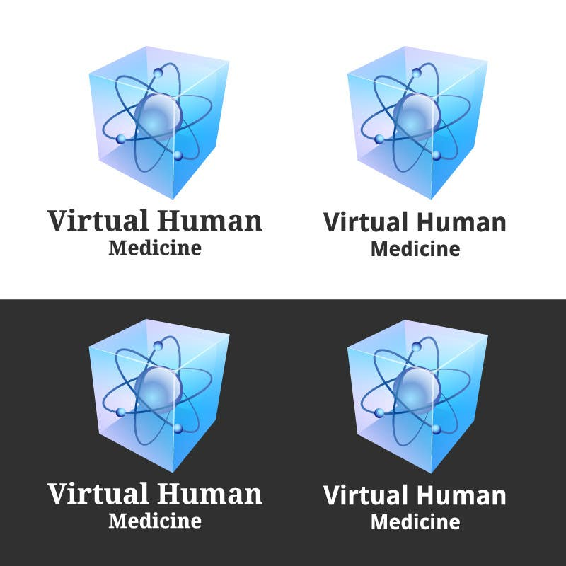 #7 for Logo Design for science concept - 3D Medicine by eak108