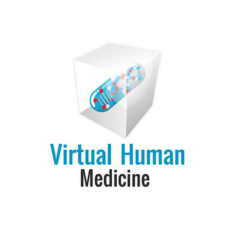 #14 for Logo Design for science concept - 3D Medicine by eak108