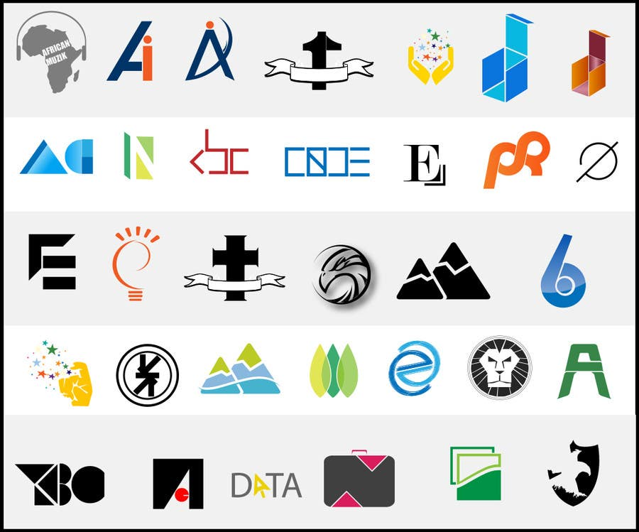 Inscrição nº                                         4                                      do Concurso para                                         Logo Design for different apps