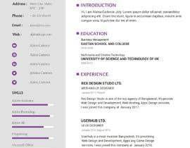 #11 untuk rebuild and design CV oleh BDSolution247